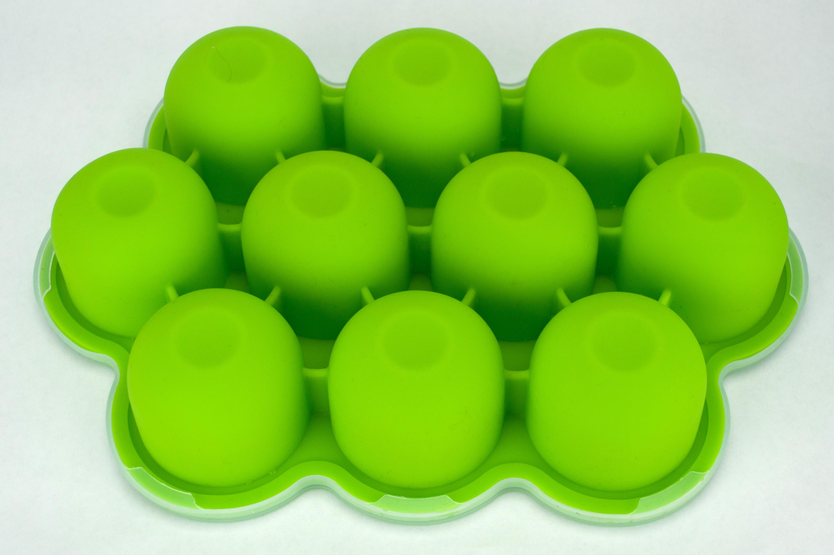 0420-bpa-silicone-baby-feeding-food-freezer-bib- & Baby Food Freezer Storage Container - 2.5oz Inidual Portions - 10 ...