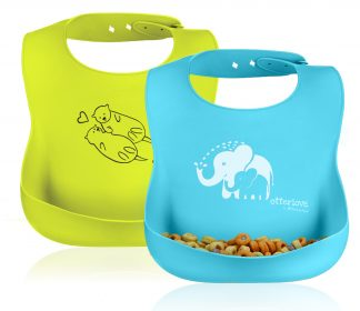 best-silicone-bib-set-lfgb-otterlove-elephant-otter-blue