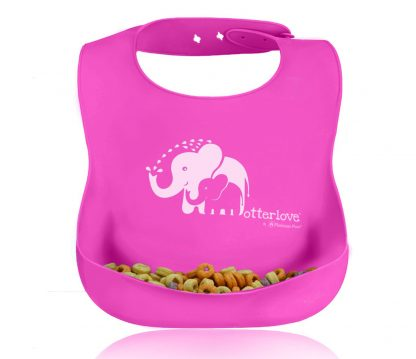 best-silicone-bib-pink-elephants-otterlove